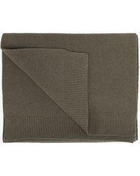 COLORFUL STANDARD Merino Wool Scarf - Green