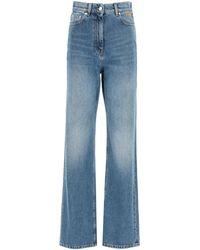 MSGM Oversize Jeans - Blue