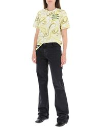 Raf Simons Five-pocket Flared Jeans - Multicolor