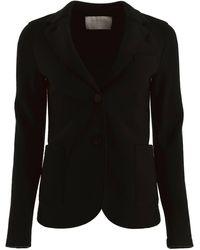 Harris Wharf London Single-breasted Jacket - Black