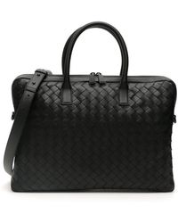 Bottega Veneta - Intrecciato 15 Briefcase - Lyst