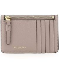 Tory Burch POUCH PERRY TOP-ZIP CARD CASE - Multicolore