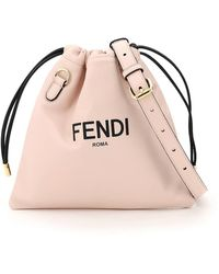 Fendi POUCH SMALL PACK ROMA - Rosa