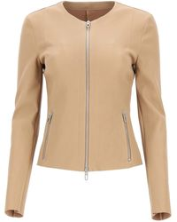 DROMe Leather Jacket S Leather - Natural