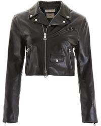Bottega Veneta Biker Jacket - Black