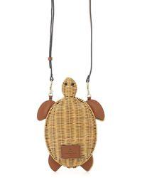 Anya Hindmarch Crossbody Turtle Bag - Natural
