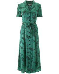 HVN Maria Dress - Green