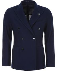 Tagliatore - Double-breasted Blazer - Lyst