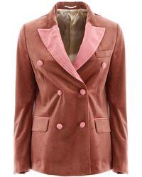 Golden Goose Deluxe Brand Blazer Jacket - Pink