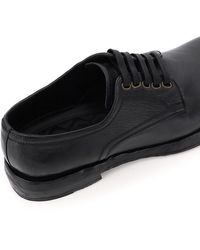 Dolce & Gabbana Derby Leather Shoes - Black