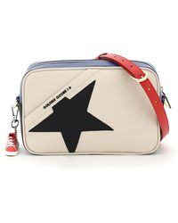 Golden Goose Deluxe Brand Crossbody Star Bag - Blue
