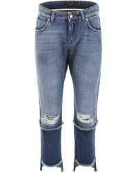 Dolce & Gabbana Cropped Jeans