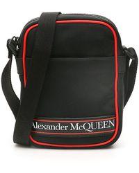 Alexander McQueen Mini Messenger Bag - Black