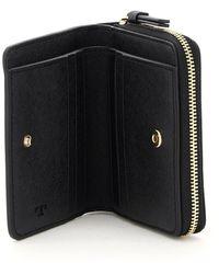 Tory Burch Robinson Bi-fold Wallet - Black