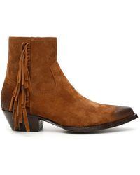 Saint Laurent - Lukas 40 Boots - Lyst