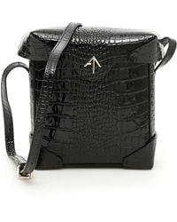 MANU Atelier Mini Pristine Bag - Black