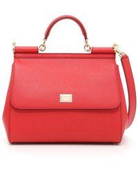 Dolce & Gabbana - Dauphine Calfskin Sicily Bag - Lyst