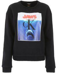 CALVIN KLEIN 205W39NYC Jaws Sweatshirt - Black