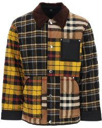 Burberry Patchwork Quilted Jacket S Cotton - Multicolor