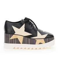 Stella McCartney Elyse Lace-up Shoes Star - Black