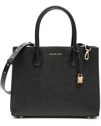 MICHAEL Michael Kors Large Mercer Tote Bag - Black