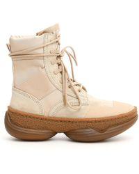 Alexander Wang Lace-up Boots - Natural