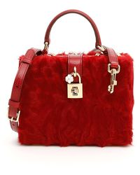 Dolce & Gabbana Mini Bag Dolce Box - Rosso