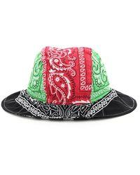 ARIZONA LOVE Bob Bandana Bucket Hat Os Cotton - Multicolour