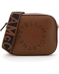 Stella McCartney - Camera Bag With Perforated Stella Logo Os Faux Leather - Lyst