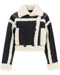 STAND - GIUBBINO KHRISTY IN ECO-SHEARLING - Lyst