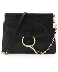 Chloé Faye New Mini Bag Black