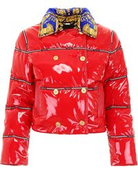 5ead3dfc8f Glossy Puffer Jacket - Red