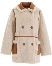 STAND Chloe Jacket In Off White - Natural