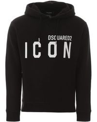 DSquared² Icon Hoodie - Black