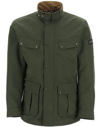 Barbour International Duke Waterproof Jacket - Green