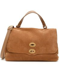 Zanellato Jones Postina M Bag - Brown