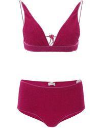 Oséree Oséree Lumiere Bikini - Purple