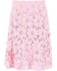 MICHAEL Michael Kors Lace Skirt - Pink