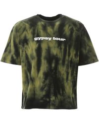 Paura Tie-dye T-shirt - Green