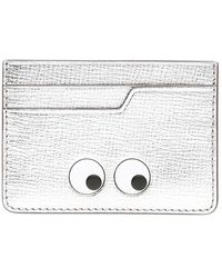 Anya Hindmarch Silver Eyes Card Case - Metallic