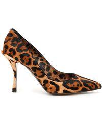 Dolce & Gabbana - Animalier Lory Pumps - Lyst
