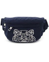 KENZO Kampus Tiger Belt Bag - Blue