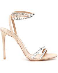 Aquazzura So Vera 105 Sandals - Multicolor