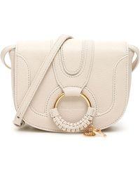 See By Chloé Mini Hana Shoulder Bag - Natural