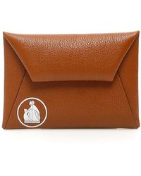 Lanvin Envelope Pouch - Brown