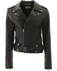 Saint Laurent Biker Jacket - Black