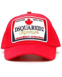 bc86354a7 Baseball Cap With Logo Patch - Red