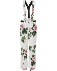Dolce & Gabbana PANTALONI SKI JUMPSUIT - Verde