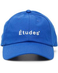 Etudes Studio Logo Baseball Cap - White
