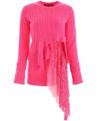 Sies Marjan Multi Layer Knit - Pink